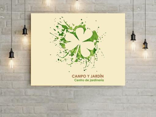 CAMPO Y JARDÍN Branding